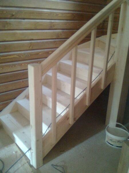 Дървени стълбища